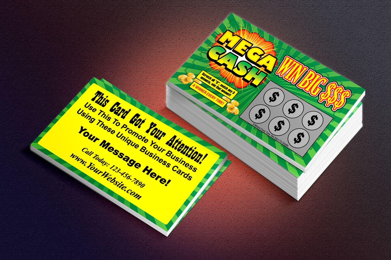 Megacash lotto ticket look a like a business card in disguise megacash lotto ticket look a like a business card in disguise colourmoves