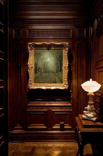 English Paneled Room: Jacobean Interiors - Google Search