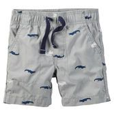 Durable and easy to wear, these pull-on shorts are built for play. With a graphic tee and sneakers, he's good to go!