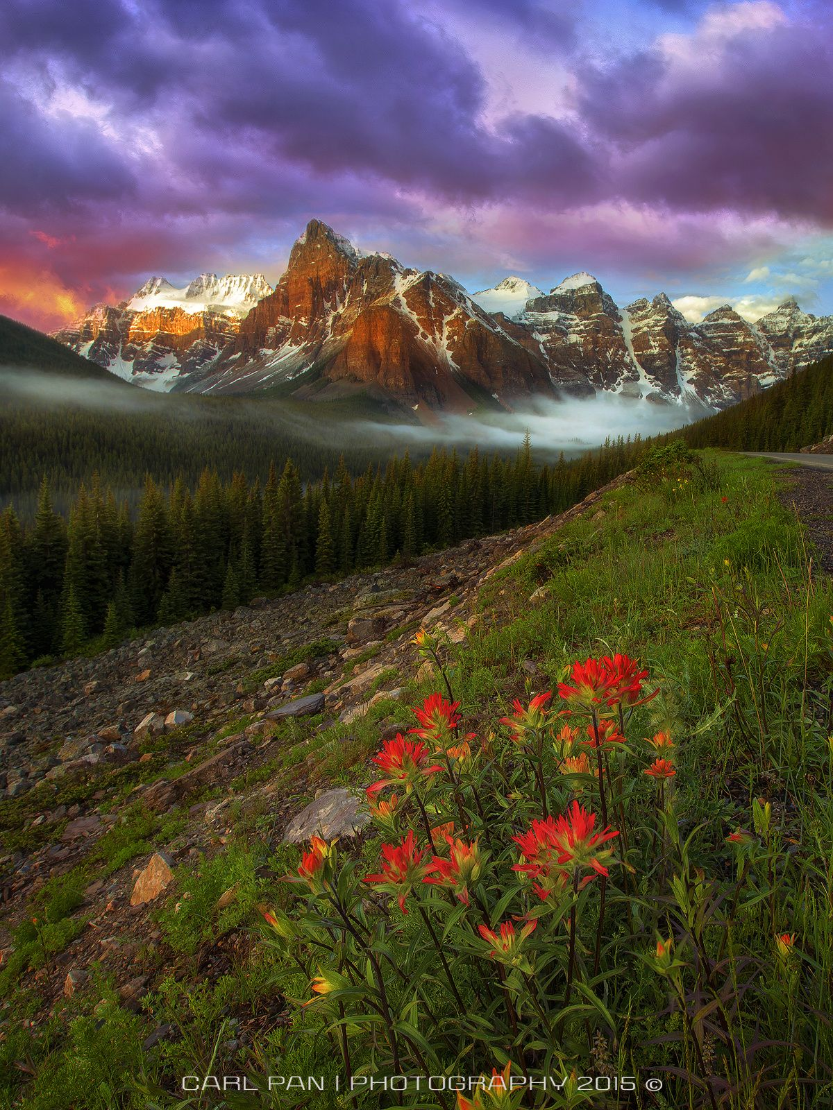 Misty Mountains 2 by Carl Pan on 500px