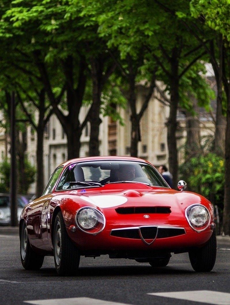 Sports Cars · Alfa Romeo TZ1 Zagato Coupé 1963