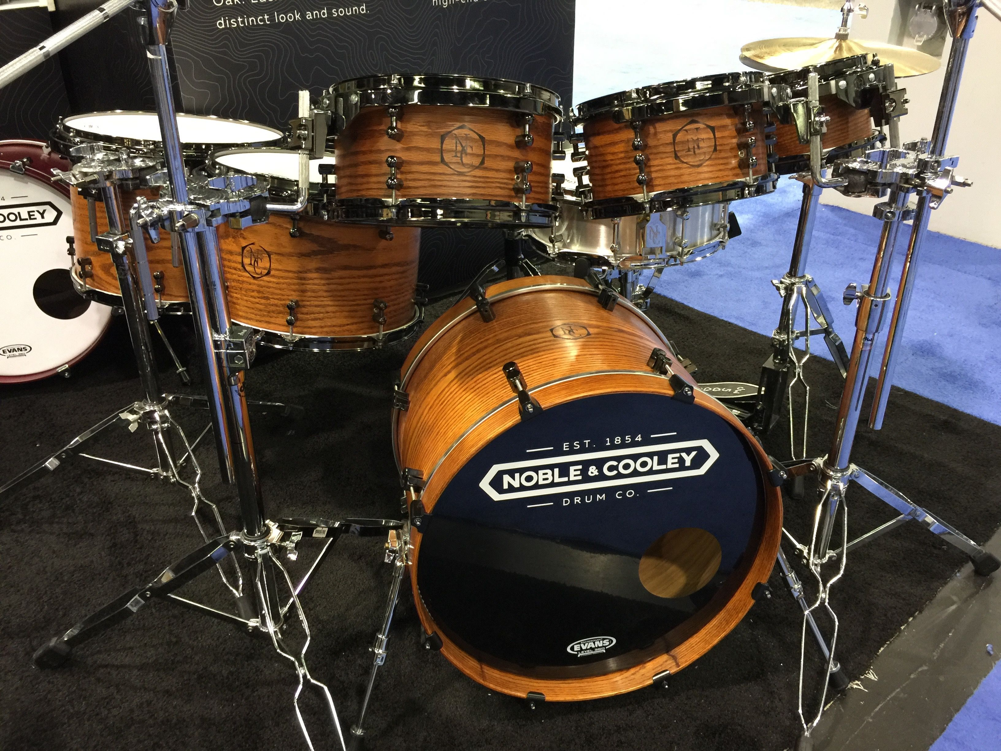 Bateria Musica Porno noble & cooley drum company oak kit   all things percussion