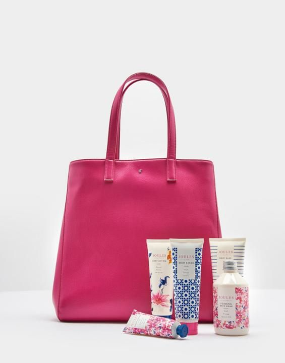 Joules Uk Bag Of Treats Womens Gift Set Pink