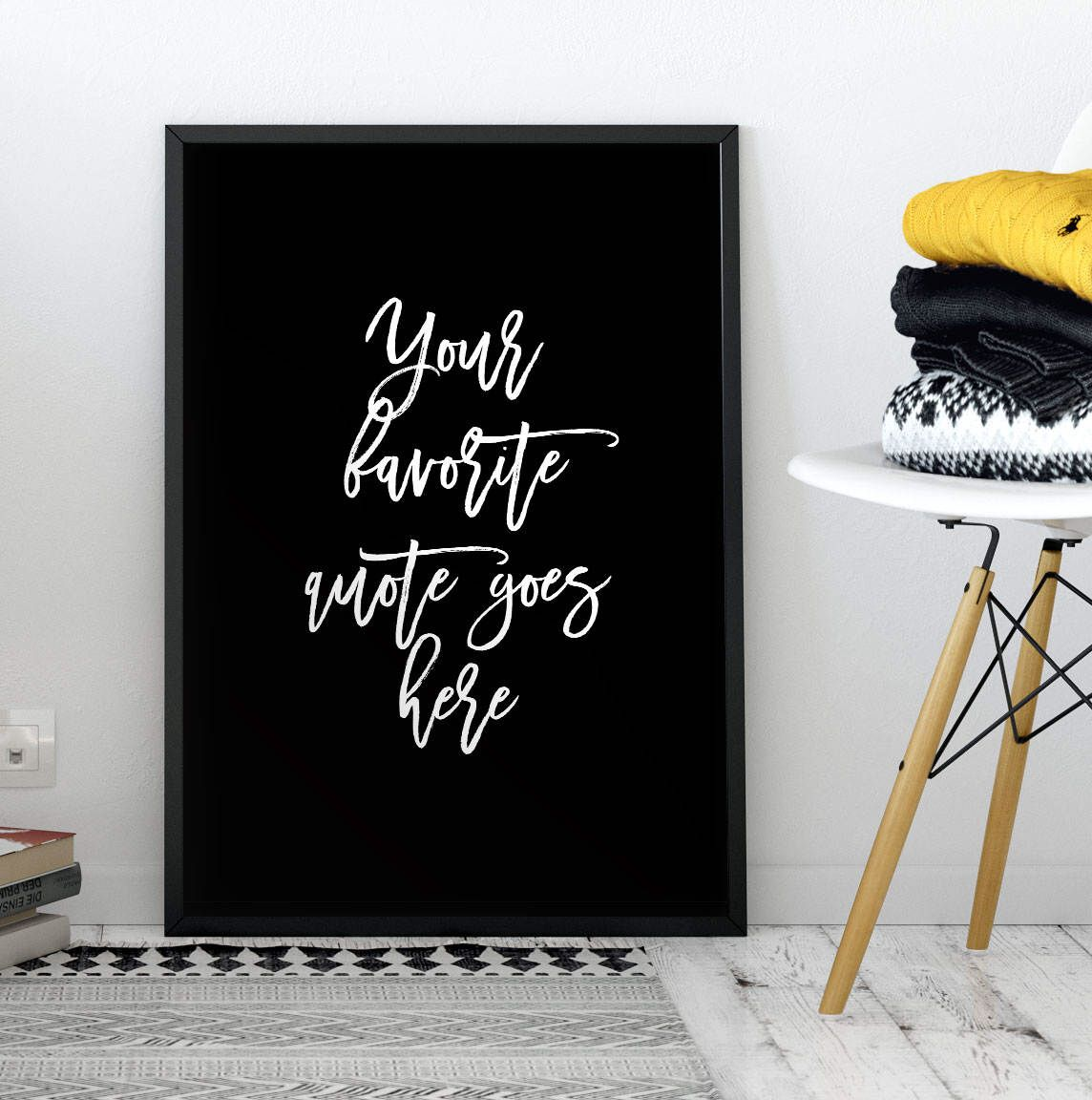 Custom Quote Prints Custom Quote Print Wall Art Saying You Personalize The Text