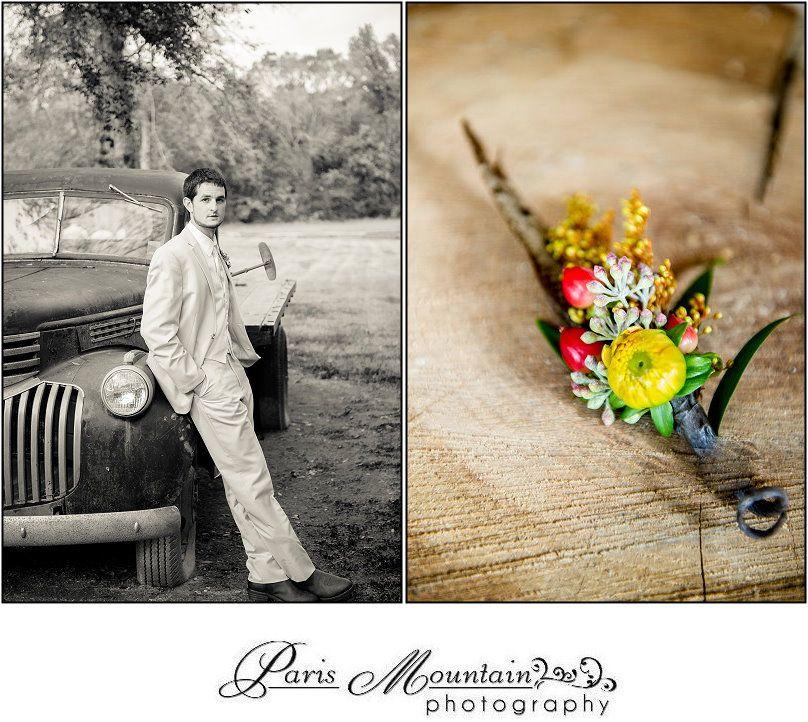 Paris Mountain Photography Spring Lake Events Wedding Groom