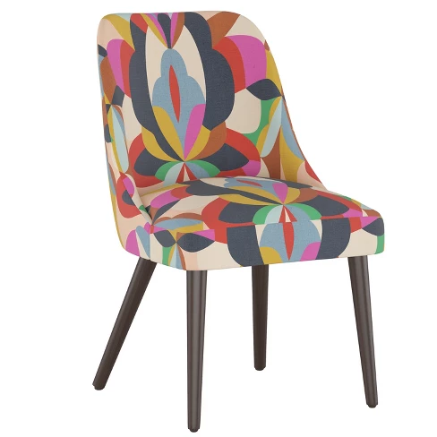 Geller Modern Dining Chair Bold Print Project 62 In 2021 Dining Chairs Patterned Dining Chairs Colorful Dining Room Chairs