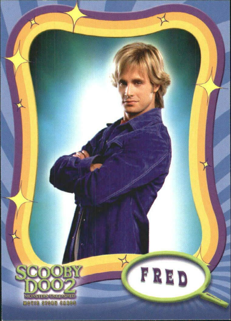 2004 Scooby Doo 2 Monsters Unleashed Non Sport Card 2 Fred Jones Fred Scooby Doo Scooby Doo Pictures Scooby Doo
