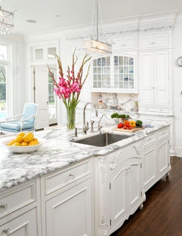 30 Modern White Kitchen Design Ideas And Inspiration  Window Amazing White Kitchen Design Ideas 2018