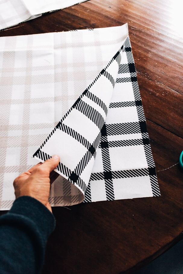 Pretty DIY placemats You can Make in 10 Minutes | Fabric ...