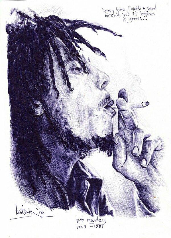 Bob Marley Sketch Bob Marley Artwork Bob Marley Tattoo Bob Marley Painting
