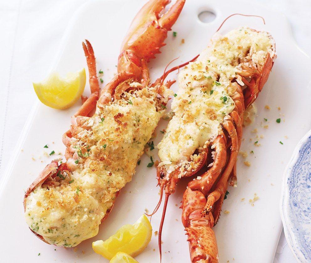 Lobster Prawn Thermidor Recipe Lobster Thermidor Shellfish Recipes Asda Recipes