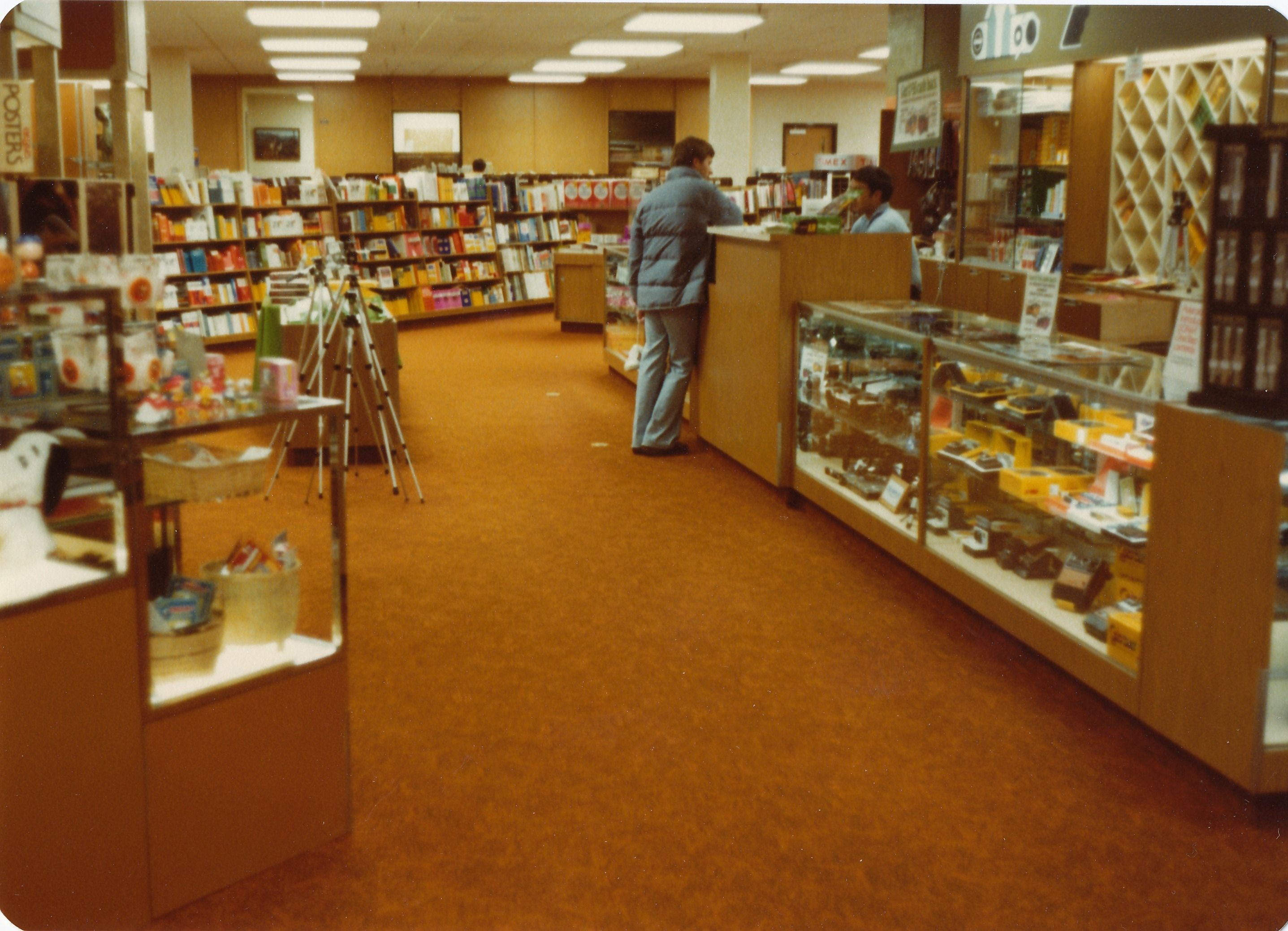 BYU Bookstore - old school style.