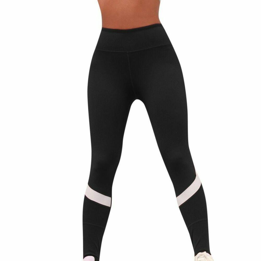 Leggins Sportivi Donna Vita Alta Push Up Pantaloni Palestra Yoga Fitness Leggings Colorati Stampati