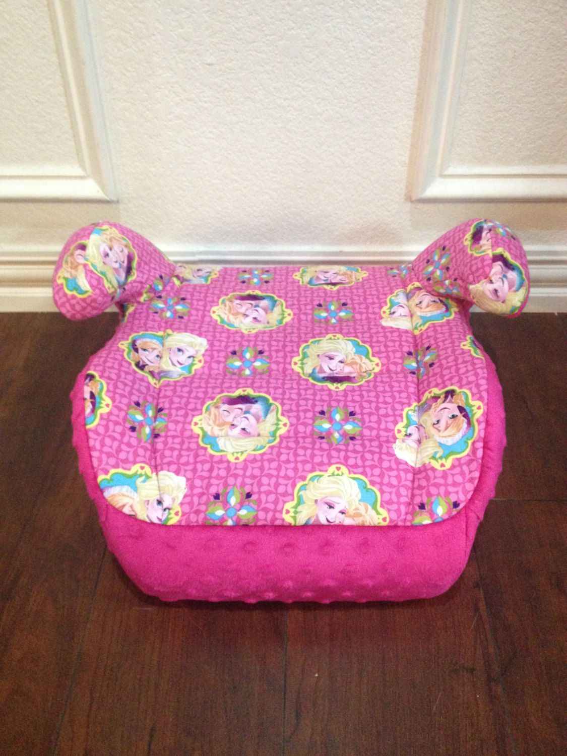 Custom Made Girls Booster Car Seat Replacement Cover Fits Harmony Brand Frozen Anna Elsa By Custombabythings On Etsy