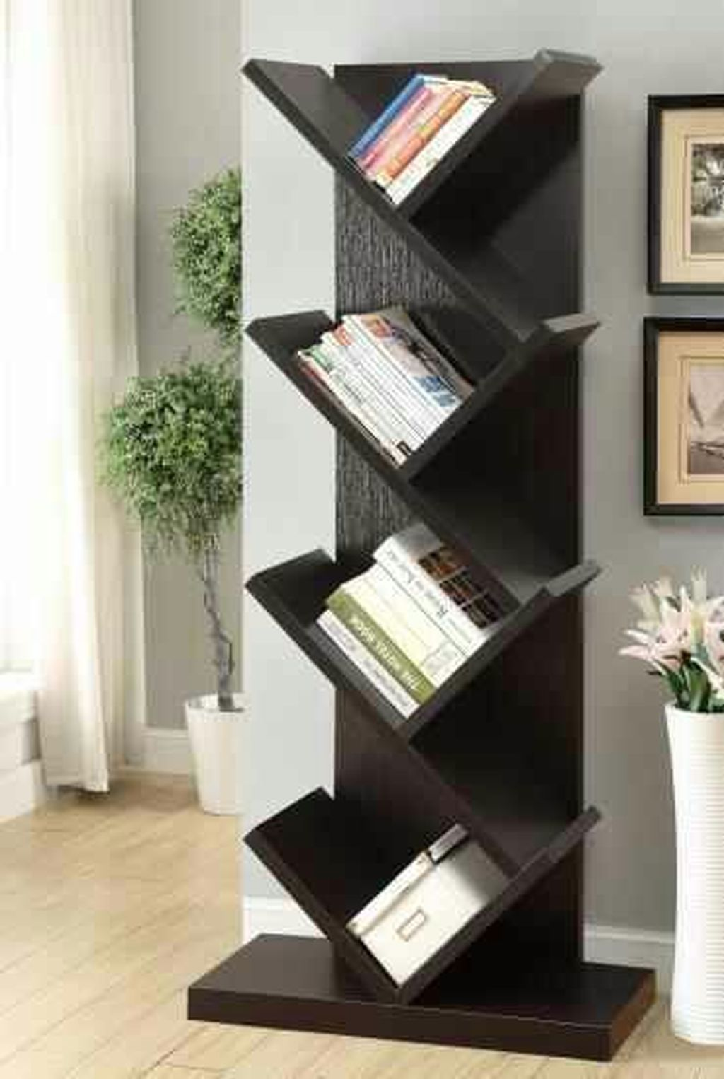 37 Creative Bookshelf Design Ideas To Copy Asap In 2020 Furniture Bookshelves Creative Bookshelves Furniture Design Table
