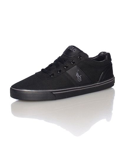 best service 57980 c9ea2 POLO Low top men s sneaker Lace up closure Canvas material throughout Padded  tongue with embroidered.