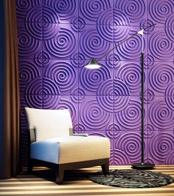 Must Have This Purple Wall In My House Textured Wall Panels Purple Walls 3d Wall Panels #wall #textures #for #living #room