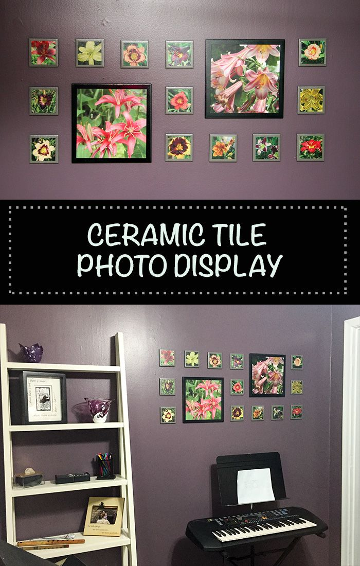Ceramic Tile Photo Display Our Sweetly Spiced Life Simple Wall