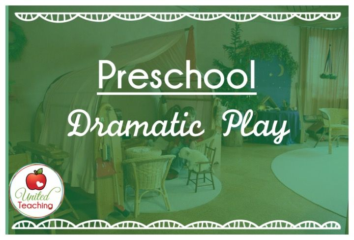 Dramatic Play ideas and resources for preschool teachers and parents.