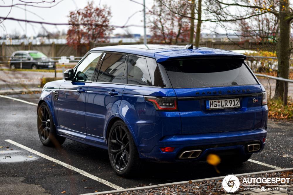 Photo of Land Rover Range Rover Sport SVR 2018