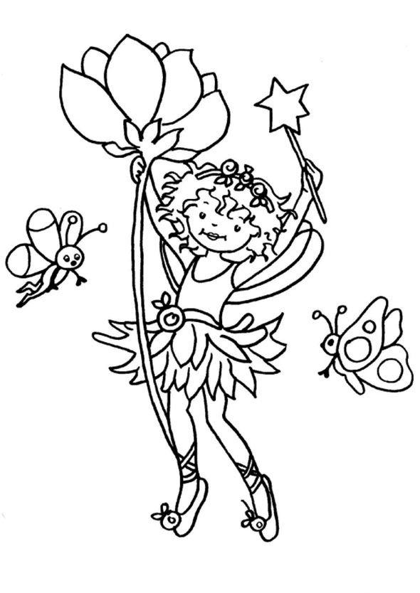 Prinzessin Lillifee Malvorlage