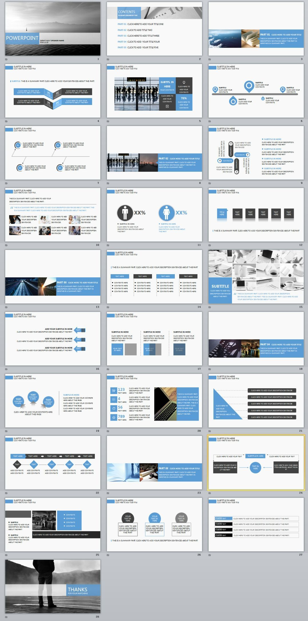 28 company charts report powerpoint template layout pinterest