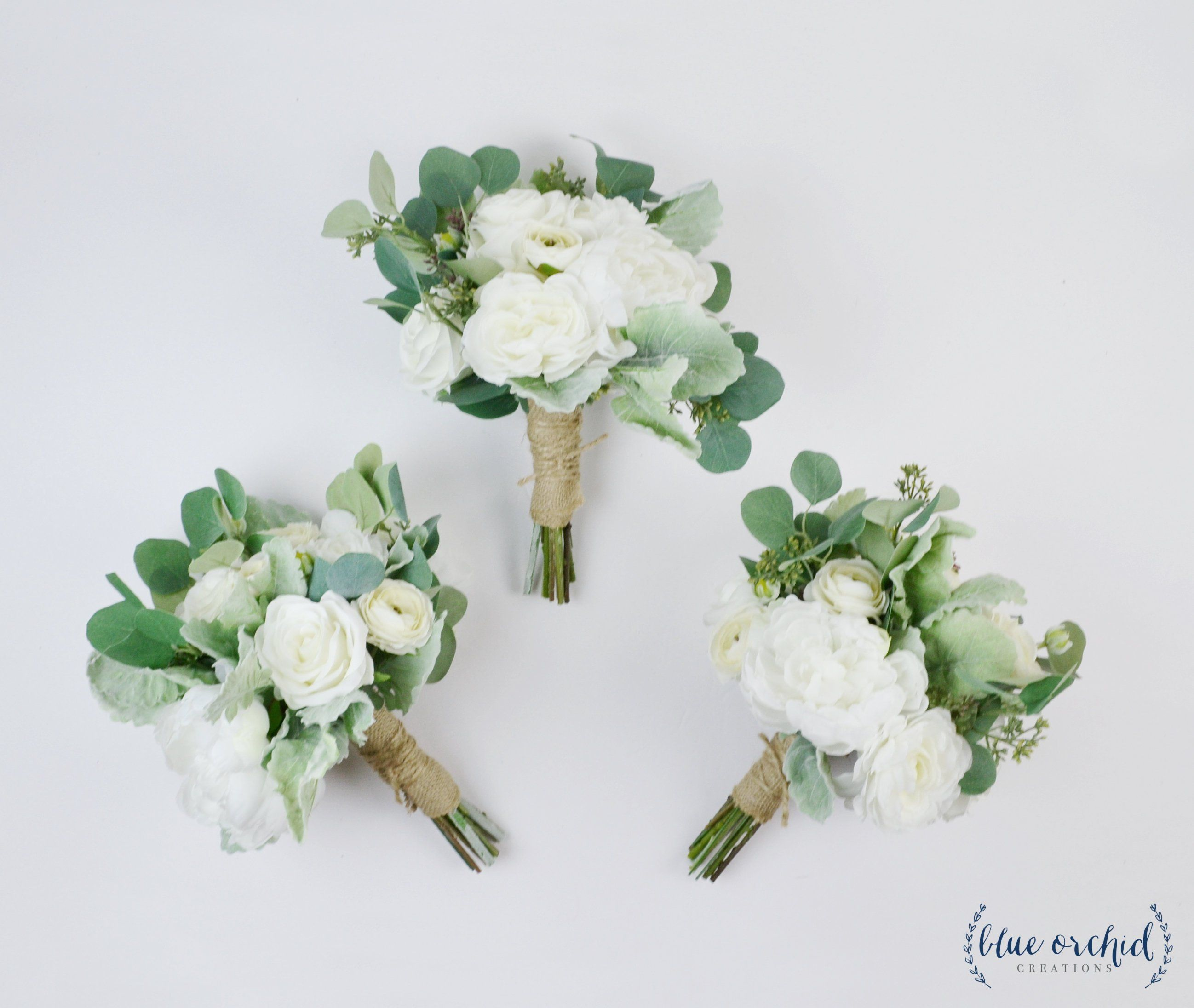 Wedding Flowers Wedding Bouquet Bridesmaid Bouquet Silk Etsy Flower Bouquet Wedding Bridal Bouquet Green Wedding Flowers