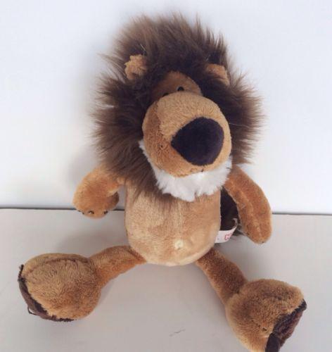 NICI-Lion-Wild-Friends-Dangling-with-Sound-Brown-plush-stuffed-annimal-toy-roar