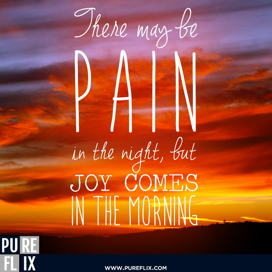Christian Quotes Encouragement: Joy Comes In The Morning