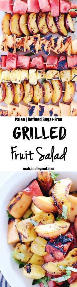 Grilled Fruit Salad (Paleo + Whole30)