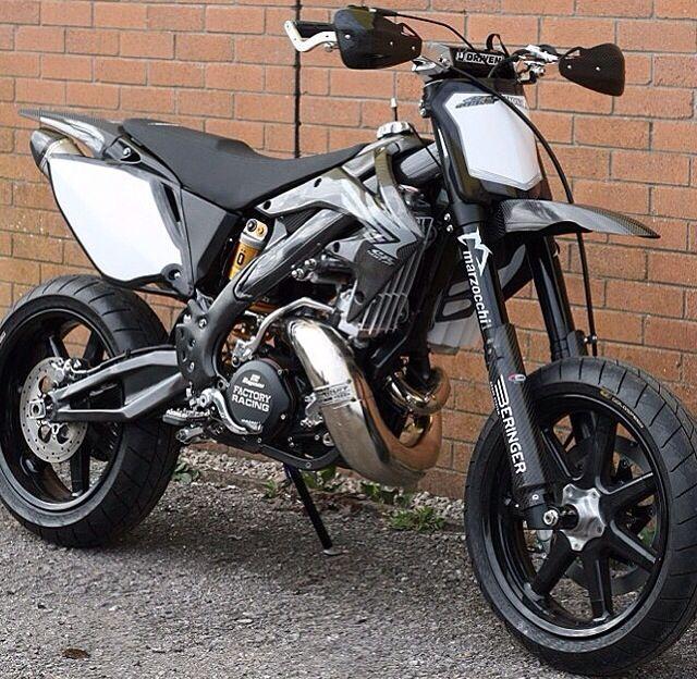Super Moto Bike Supermoto Honda Cr Motorcycle
