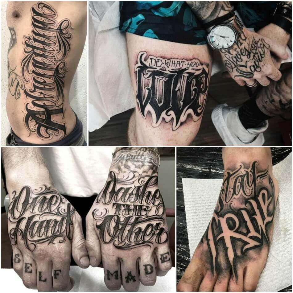 Tattoo Script And Writing 5 Tips For Successful Script Tattoos Image For You In 2020 Hand Tattoos For Guys Tattoo Font For Men Tattoo Lettering Styles
