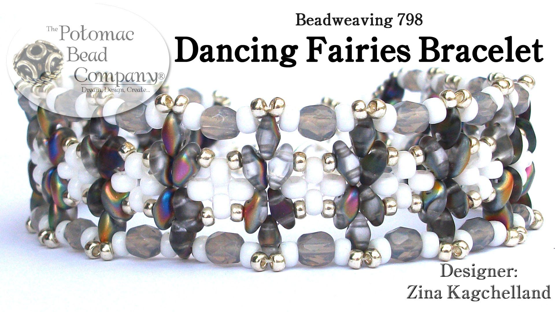 Beadweaving dancing fairies bracelet bracelet patterns