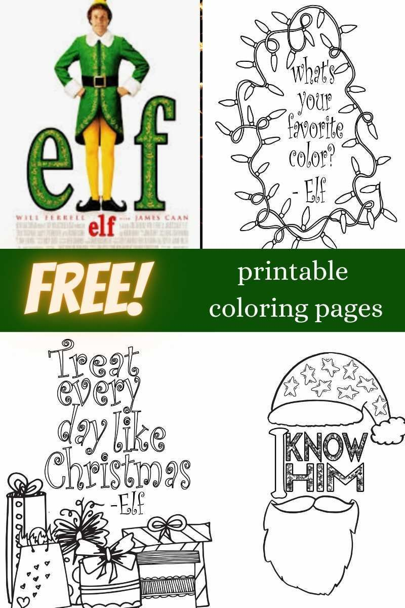 Stream & Color - Elf - 23 Printable Coloring Pages — Stevie Doodles