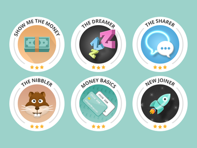 Beautiful Gamification Icon Pack! Design Ideas Icon