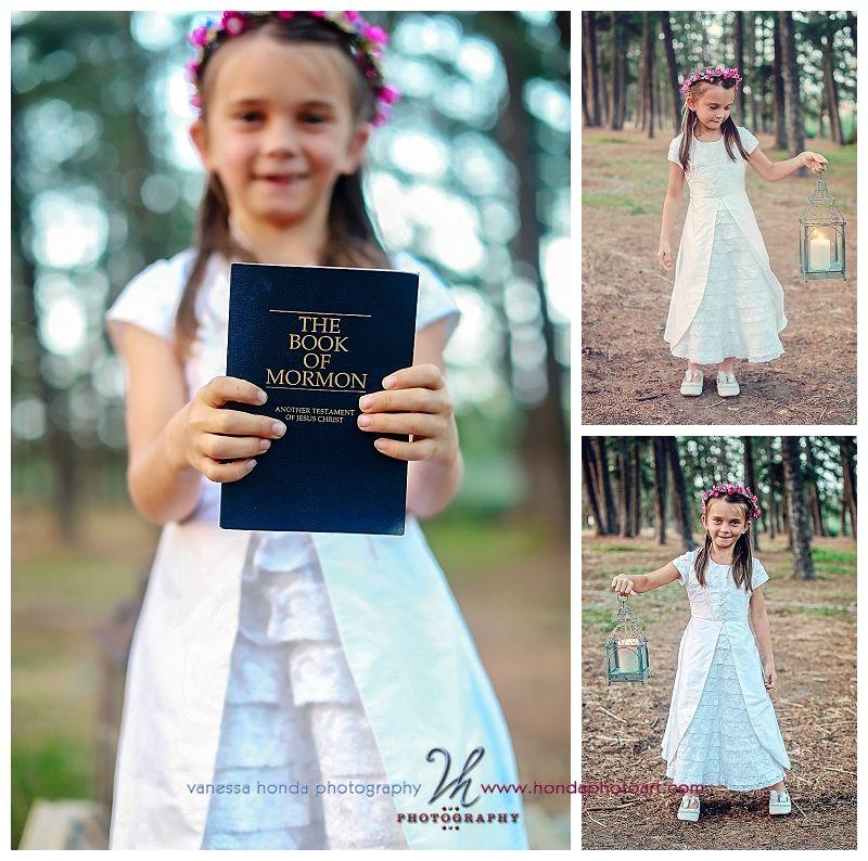 Children's LDS Baptism Portraits in Orange County  Find more LDS greats at: MormonFavorites.com