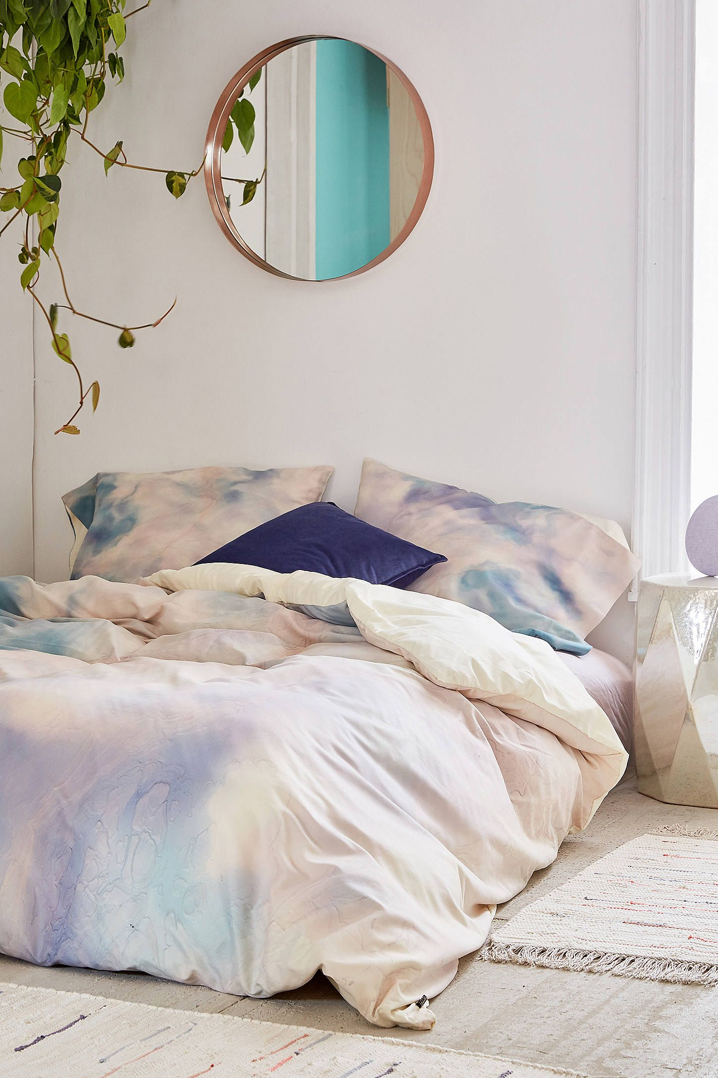 Marble Bedroom: Chelsea Victoria For Deny Unicorn Marble Duvet Cover