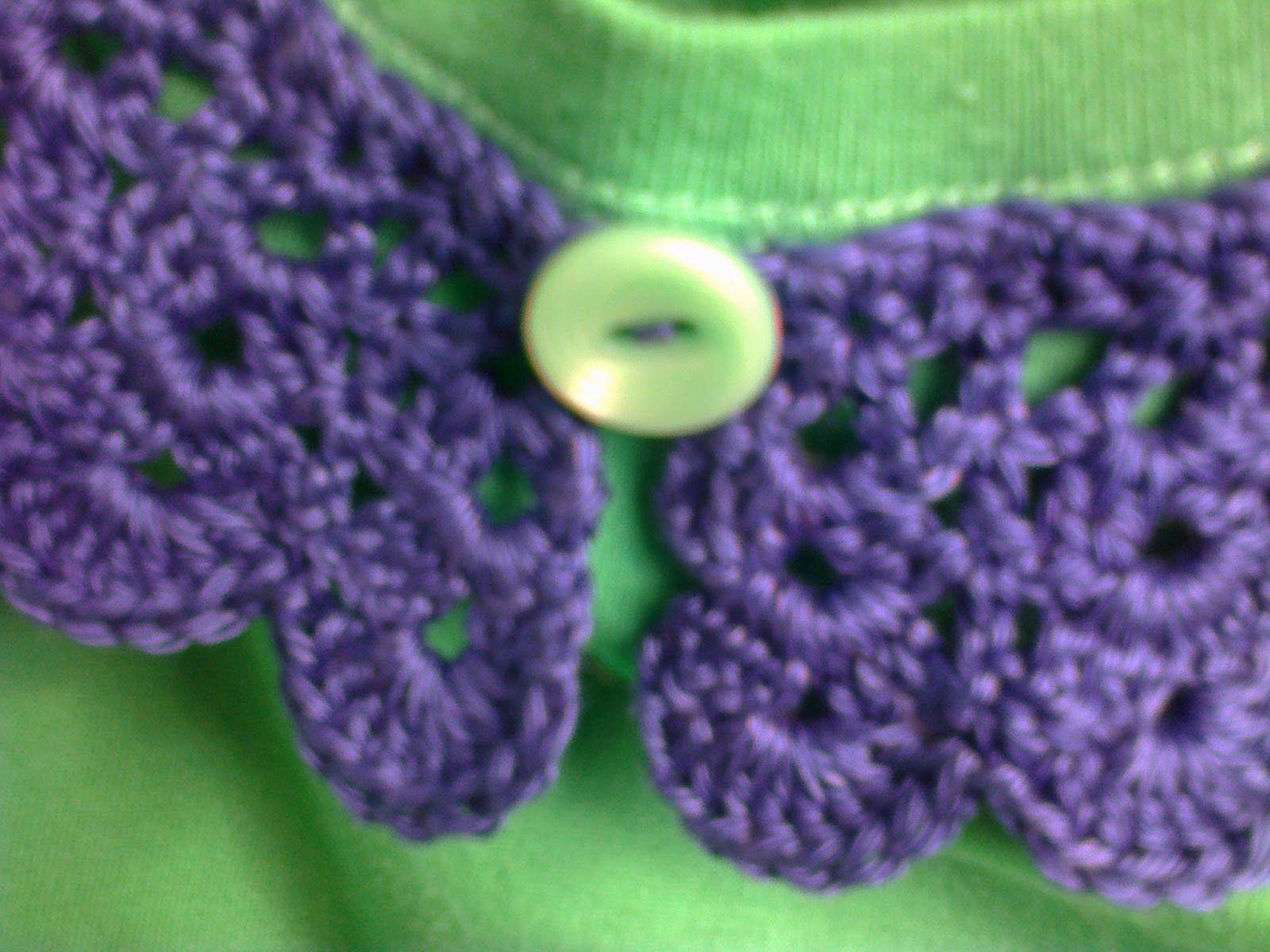 Breien En Haken In Oostende A Crochet Collar Naaien Ideeen