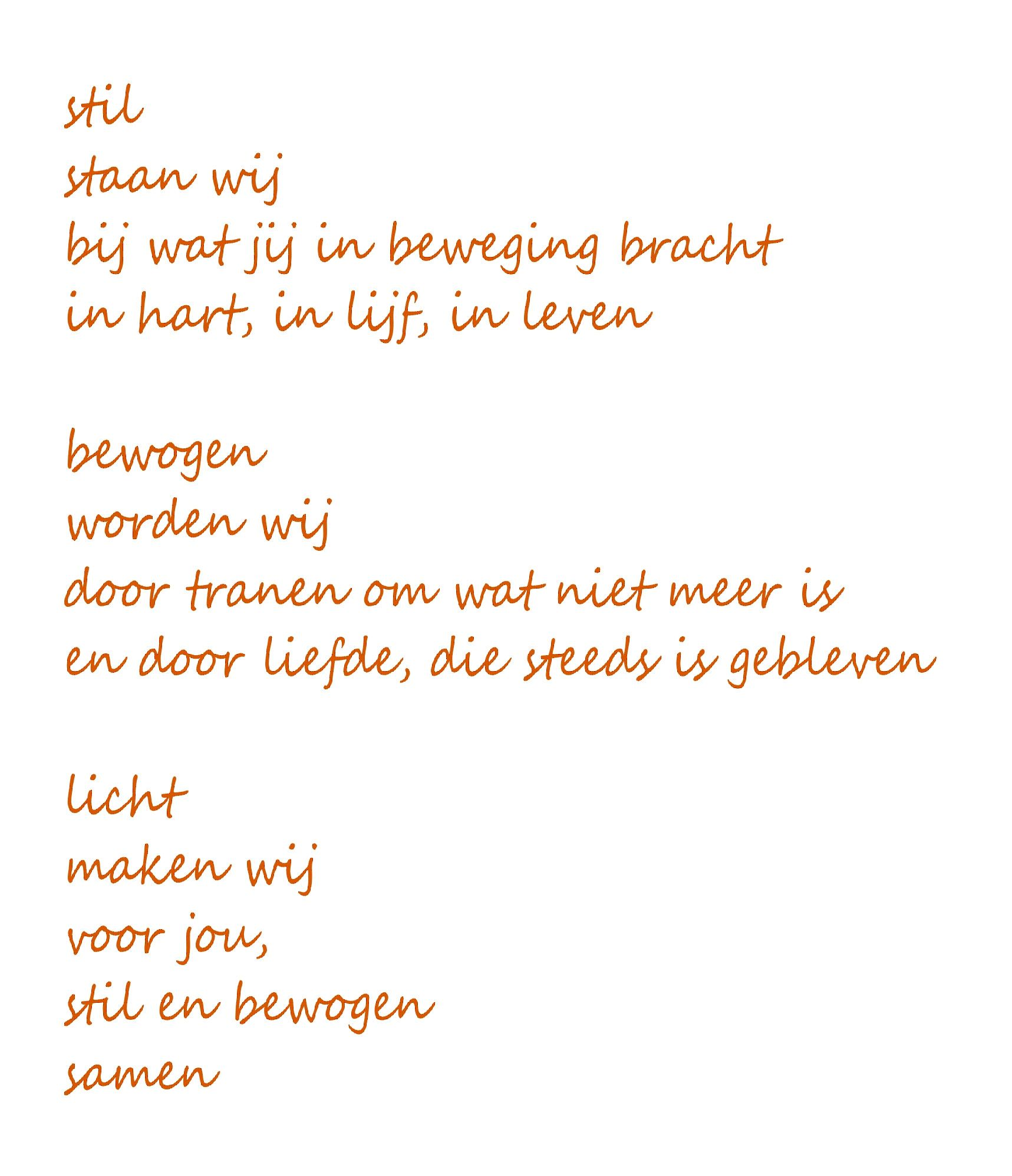 Pin Van El Op Quotes Gedichten Begrafenis Gedichten En