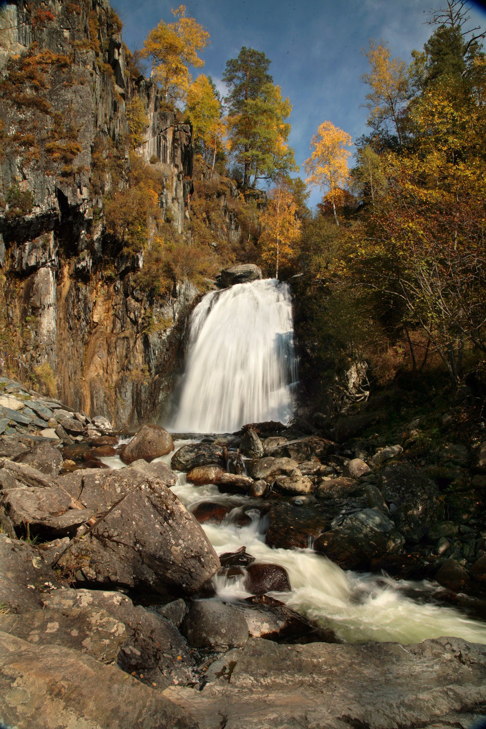 Altay waterfalls      photo: Andrey Kochkin