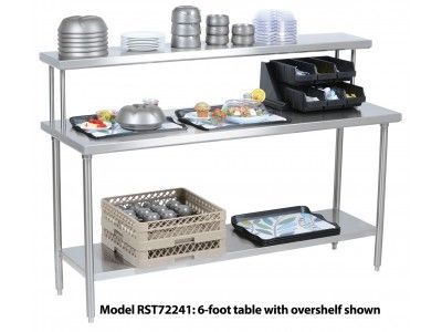 Aladdin S All Stainless Steel Tables Are The Perfect Workstations To Round Out Your Tray Assembly Area These Versatile Steel Table Assembly Table Workstation