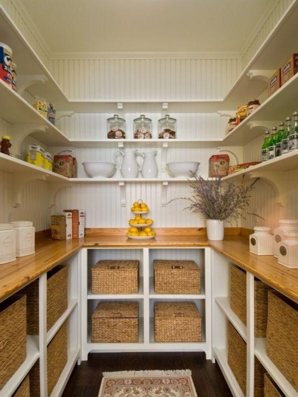 organisieren sie ihre speisekammer korb wohnideen pinterest speisekammer organisieren und. Black Bedroom Furniture Sets. Home Design Ideas