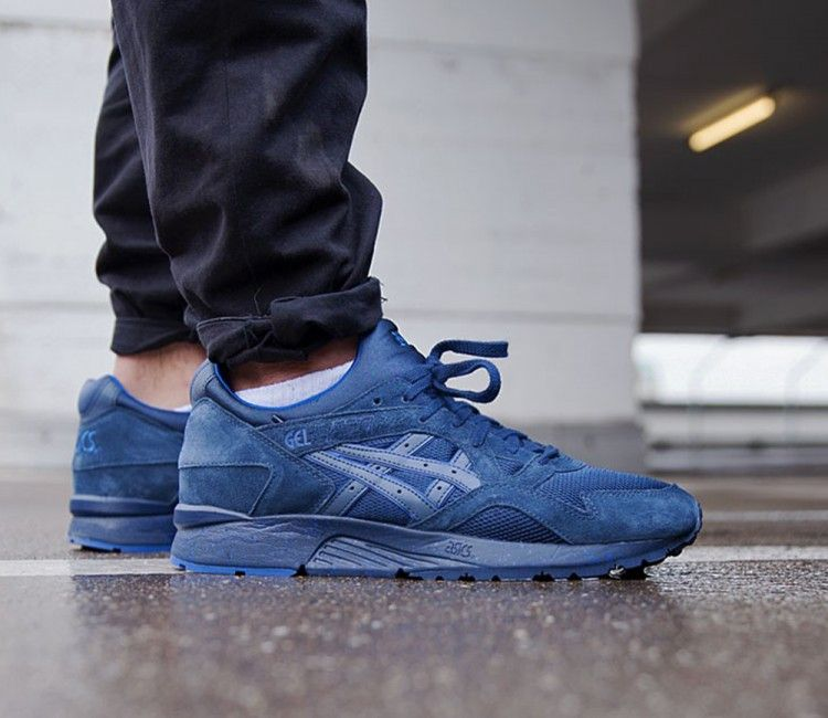 navy asics gel lyte
