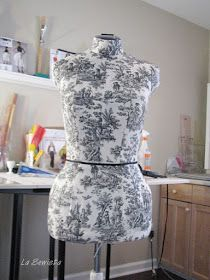 La Sewista!: Dress Form, Part Four and Completed