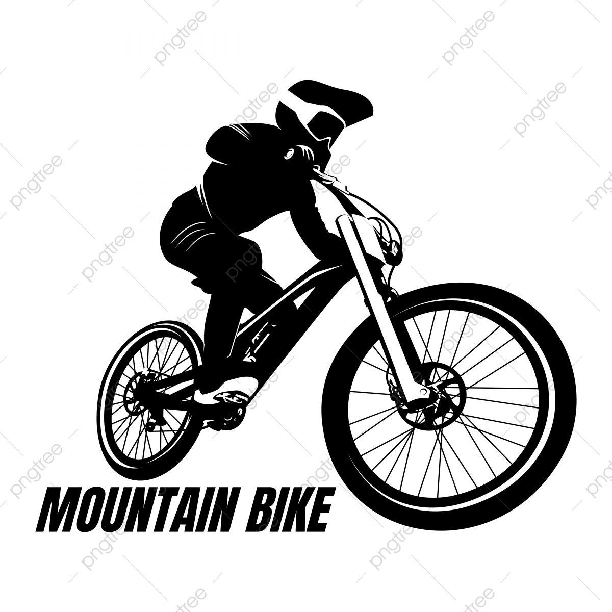 Mountain Bike Cycle Logo Design Icon Vector Cycle Logo Bike Logos Design Outdoor Logos