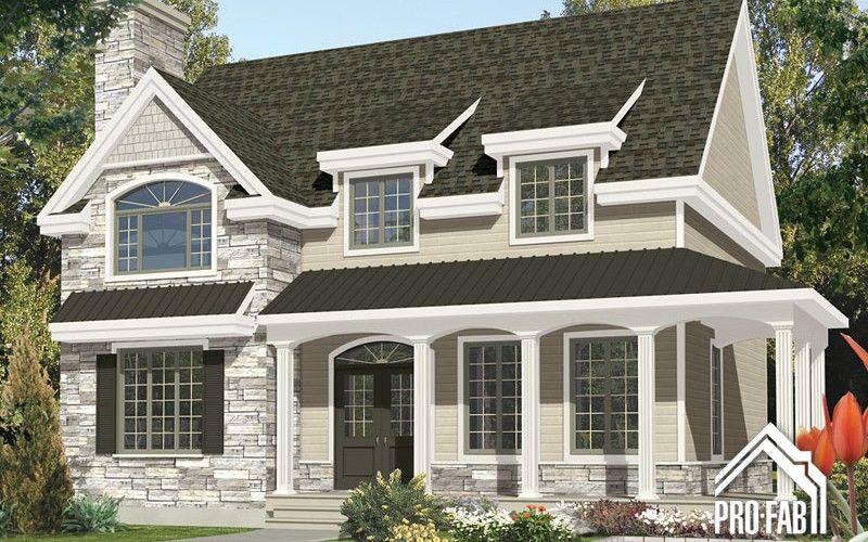 Ramezay constructeur maison maison usin e maison pr fabriqu e pro fab home ext rieur - Constructeur maison modulaire ...
