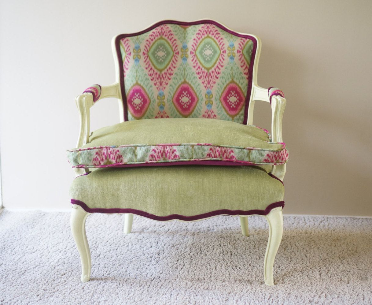 Best Vintage Bohemian Upholstered Chair In Dharti Festival Sold 400 x 300
