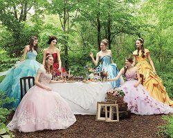 Коллекция свадебных платьев принцессы