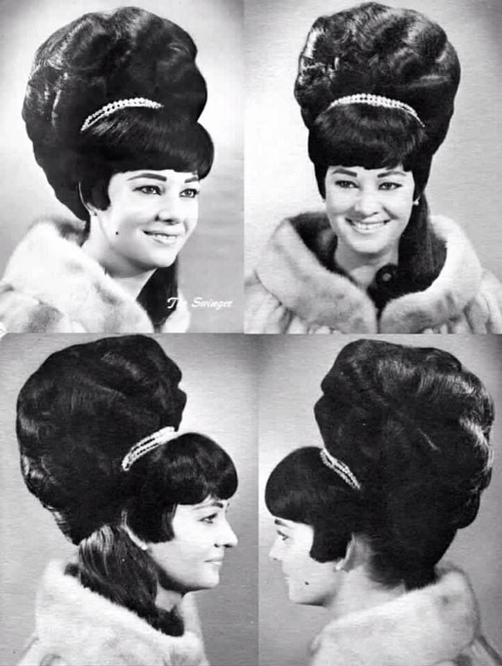 Which 1960s Hairstyle Are You? | Beehive hair, 1960s hair, Big hair