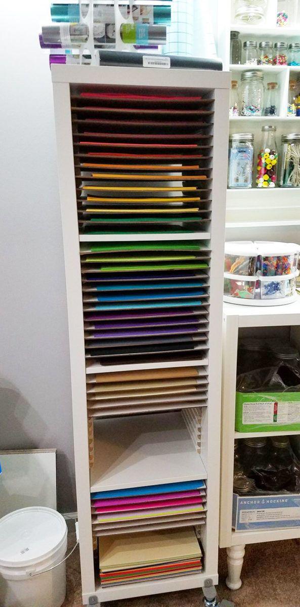 Best 12X12 Paper Storage Diy Vertical Organizer For Scrapbook 400 x 300